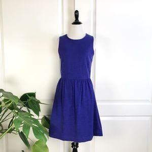 Madewell Blue Sleeveless A Line Afternoon Dress